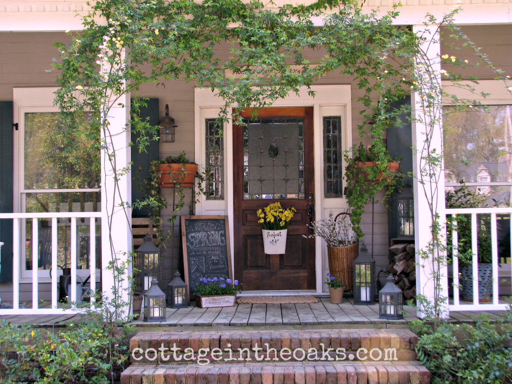 ... Ideas Housedesignimages.us Spring Front Porch ...