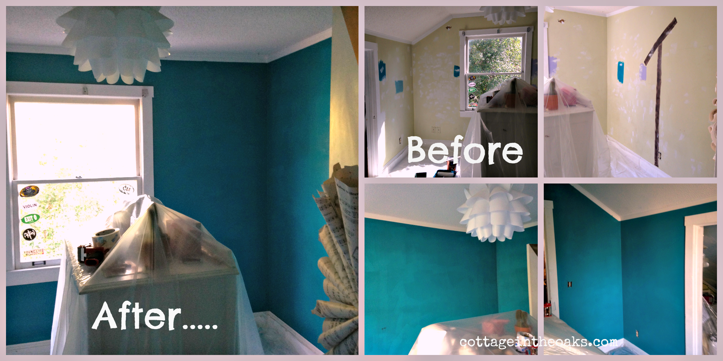 Redoing Bedroom Ideas teen girl's room redo {sneak peek} - cottage in the oaks
