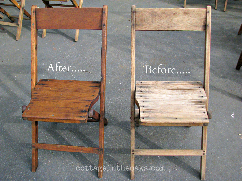 Vintage Wooden Folding Chairs - Vintage Wooden Folding Chairs...... - Cottage In The Oaks