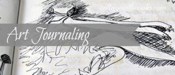 Art Journaling Button