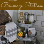 Setting Up An Autumn Beverage Center