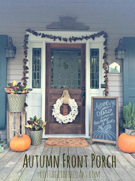 Autumn Front Porch Inspiration