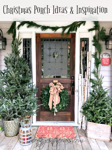 Cottage Christmas Front Porch Ideas Cottage In The Oaks
