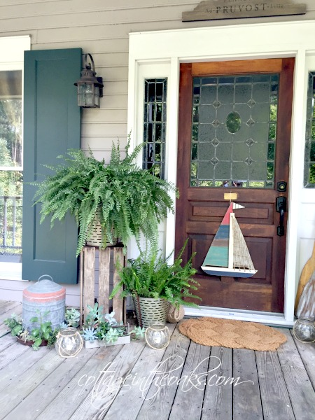Summer Cottage Front Porch 2016 In The Oaks