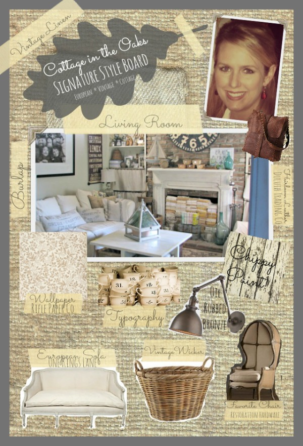 Cottage in the Oaks Signature Style ::: Vintage European Cottage