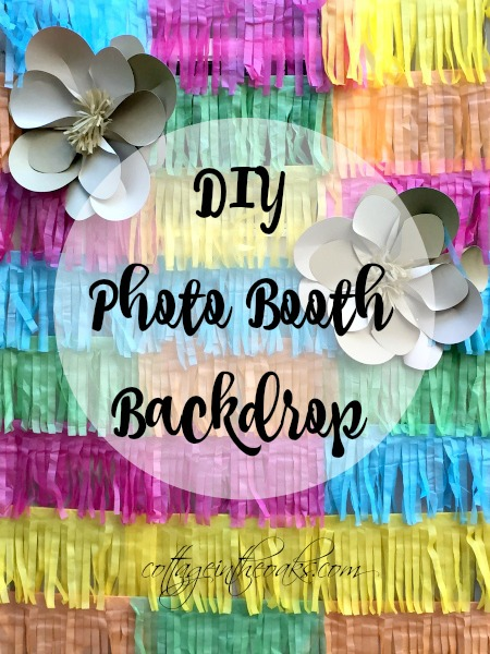 DIY Photo Booth Backdrop