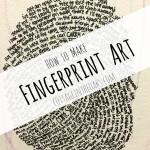 How to Make Fingerprint Art