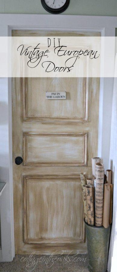 DIY Vintage European Doors & DIY Vintage European Doors - Cottage in the Oaks