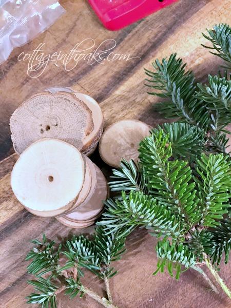 making mini christmas trees on wood - Live Mini Christmas Tree