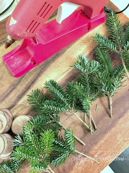 making mini christmas trees - How To Make Miniature Christmas Decorations