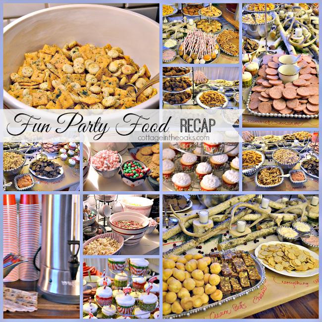 christmas party food ideas - Christmas Party Menu Ideas