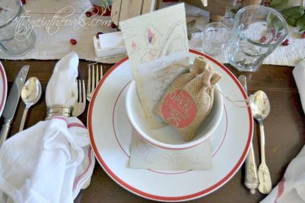 Table Setting Ideas for Christmas & Christmas Table Setting Ideas - Cottage in the Oaks