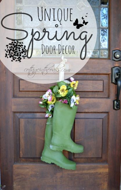 Superieur Unique Spring Door Wreaths